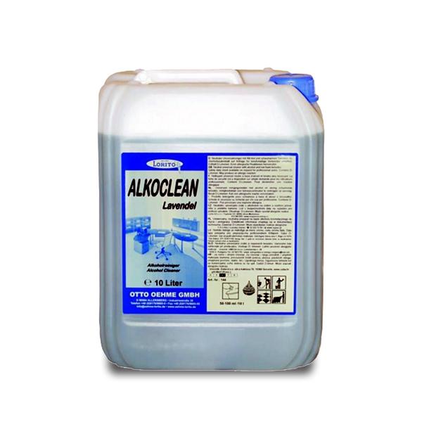 Čistilo za dnevno čiščenje Alkoclean Lavendel