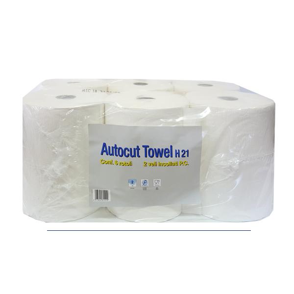 Brisače papirnate Paperdi čista celuloza za avtomate Tork