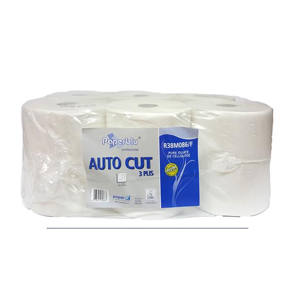 Brisače papirnate za podajalnike 3 slojne Paperdi R38M086
