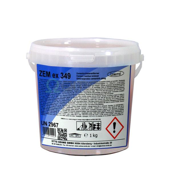 Čistilo ZEM-ex za generalno čiščenje po gradbenih delih