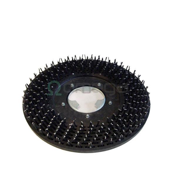 Disk z žeblji za enokolutni stroj Wirbel