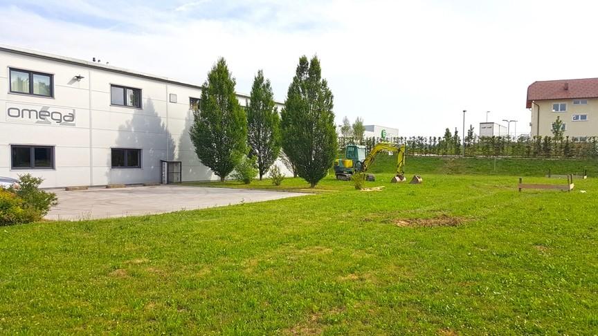 Gradnja skladišča OMEGA d.o.o. 1