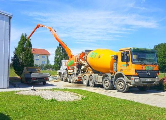 Gradnja skladišča OMEGA d.o.o. 2