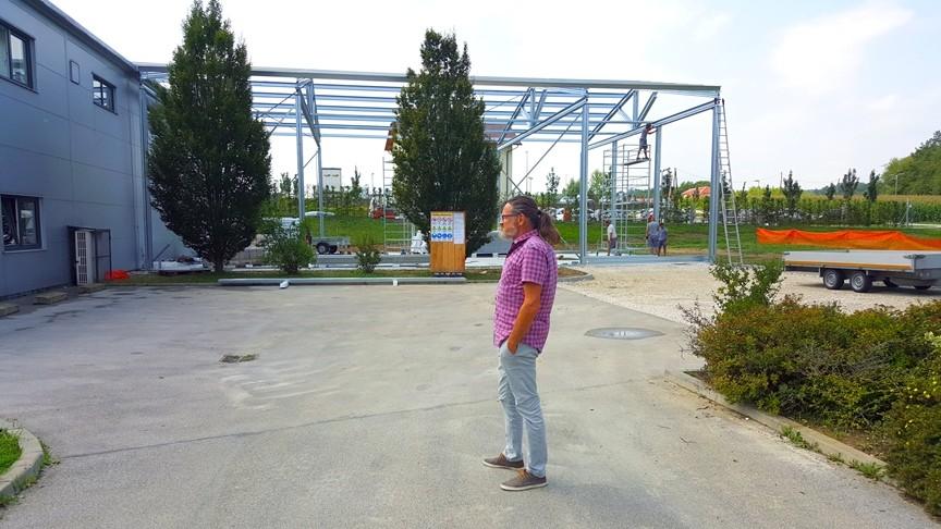 Gradnja skladišča OMEGA d.o.o. 3