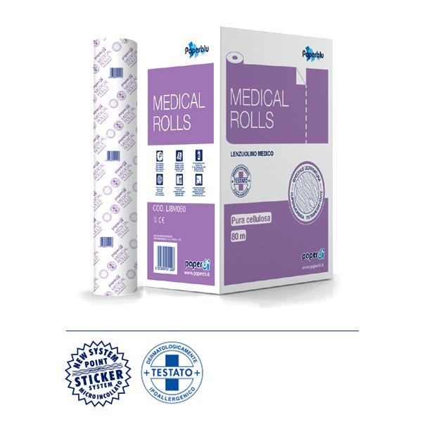 Medicinske podloge iz čiste celuloze Paperdi