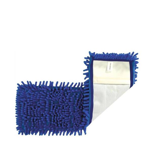 Mop micro chenille z žepi moder