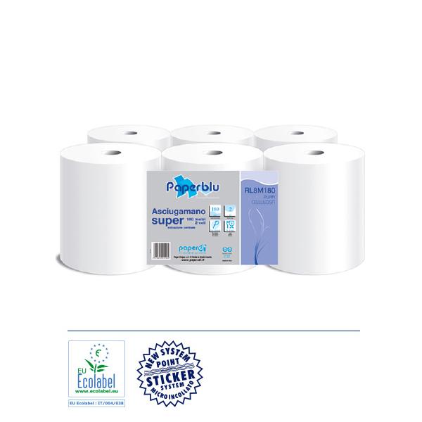 Papirnate brisače centralni izvlek čista celuloza