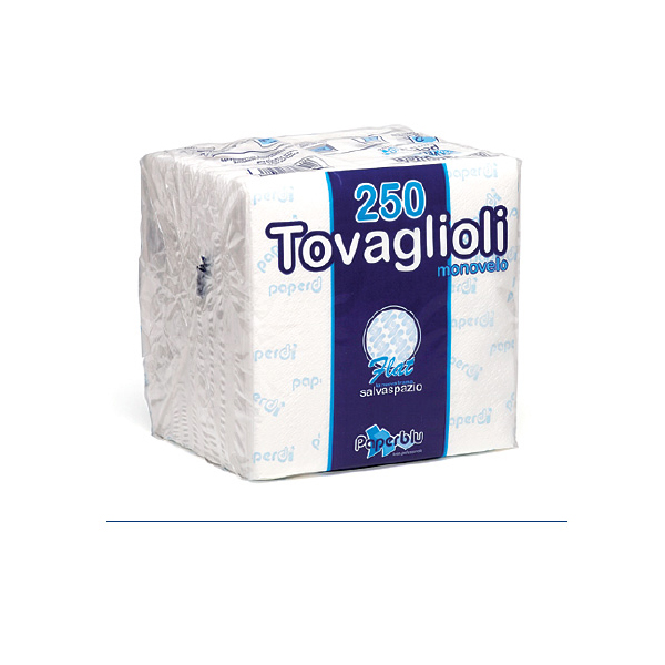 Papirnate serviete 1-slojne 33x33