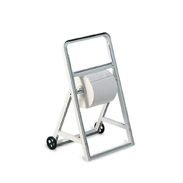 Podajalnik industrijskih brisač PVC s kolesi