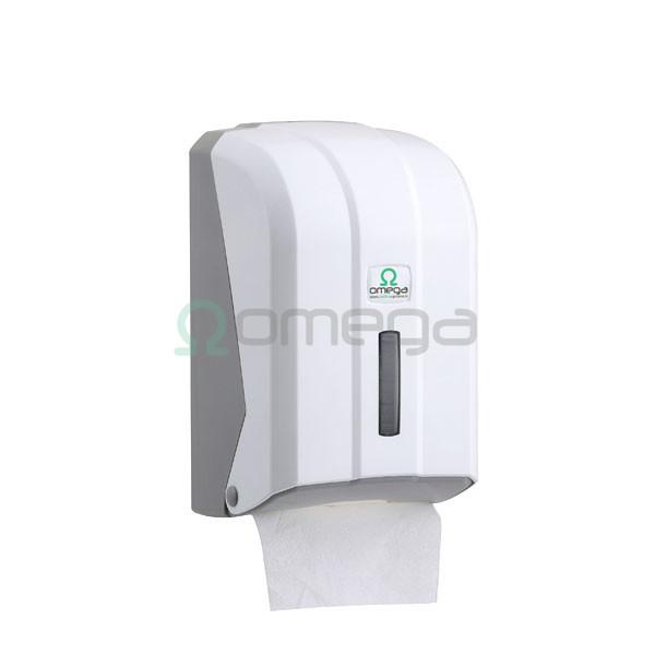 Podajalnik toaletnega papirja lističev OMEGA