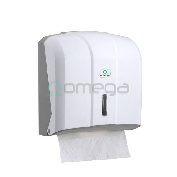 Podjalnik papirnatih brisač zloženih OMEGA