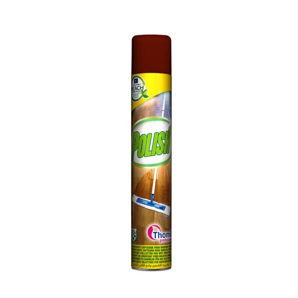 Polish aerosol za suho brisanje tal
