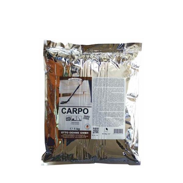 Prašek za suho globinsko čiščenje tepihov CARPO