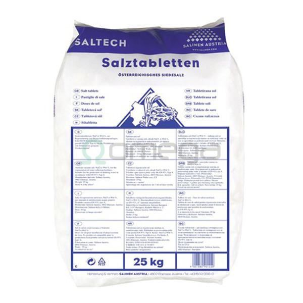 Tablete solne 25 kg za mehčanje vode