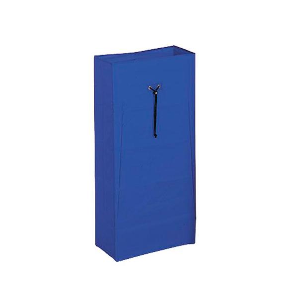 Vreča PVC za odpadke in perilo 60 l za vozičke modra