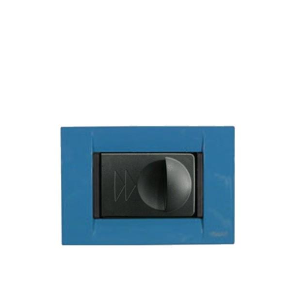 Vtičnica črna SD120 za dekorativne okvirje_