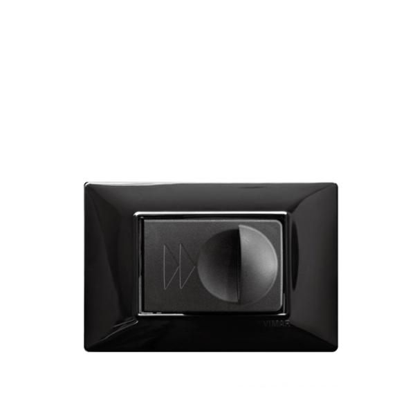 Vtičnica črna SD110 za dekorativne okvirje_1