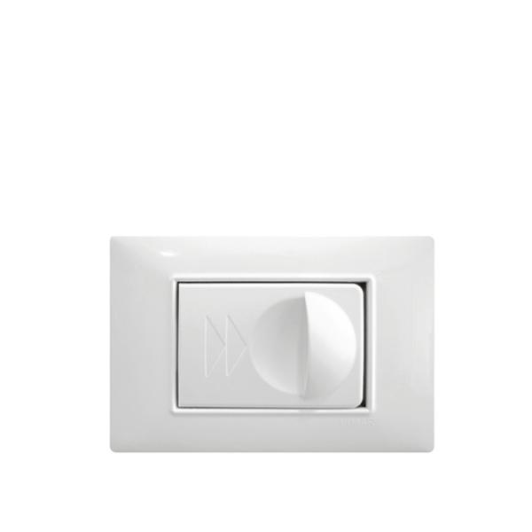 Vtičnica bela SD113 za dekorativne okvirje