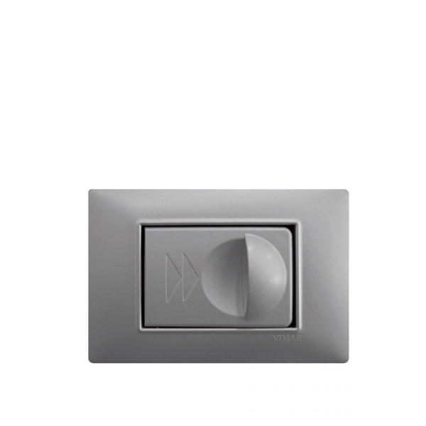 Vtičnica siva SD111 za dekorativne okvirje