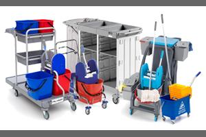 Čistilni in hotelski vozički ter oprema