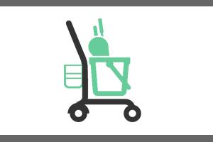 Oprema za hotelske in čistilne vozičke