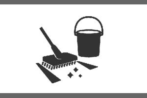 Pribor za čiščenje tal