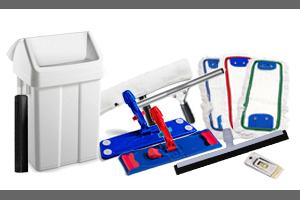 Pripomočki za čiščenje in oprema