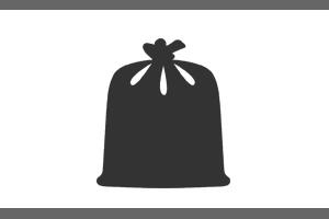 PVC vrečke za koše in pakiranje