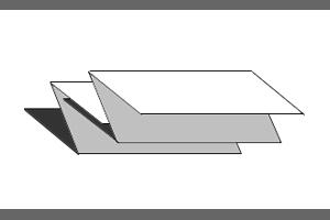 Podajalnik zloženih brisač