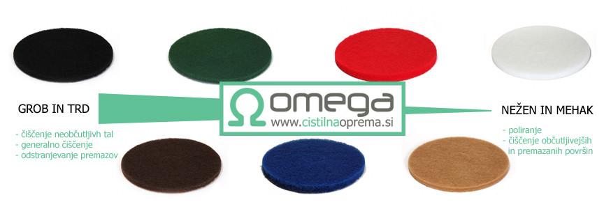 Čistilni in polirni filci Superpad OMEGA