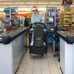 Čistilni stroj FIMAP Mr volanski_uporaba v trgovini