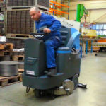 Čistilni stroj FIMAP Mr70 S s cilindrično krtačo