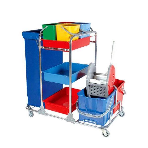 Večnamenski čistilni voziček Pino