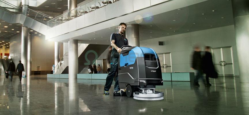 Scrubbing machine FIMAP Maxima -OMEGA