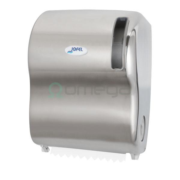 Podajalnik papirnatih brisač AUTOCUT INOX SATEN AG59000