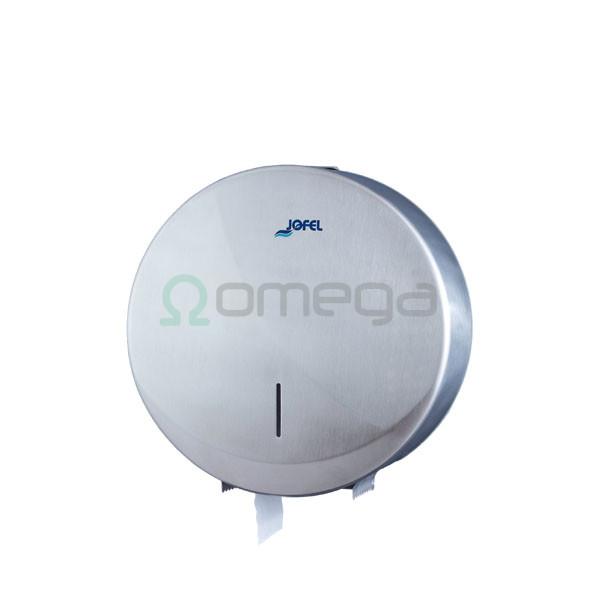 Podajalnik rolic Jumbo MIDI 220 mm inox saten AE25000