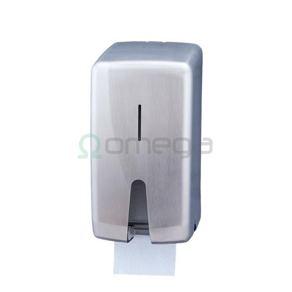 Podajalnik rolic standard FUTURA 2 rolici inox saten AF55000