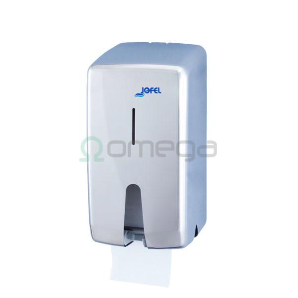 Podajalnik rolic standard FUTURA 2 rolici inox sijaj AF55500