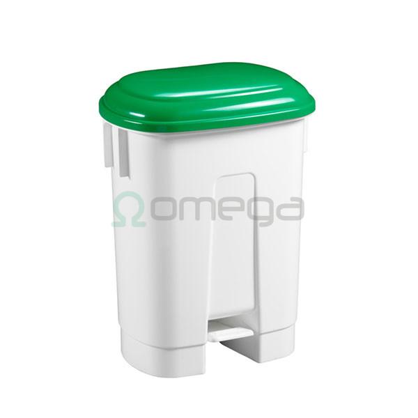 Koš za smeti FILMOP SIRIUS zelen pokrov 60 l