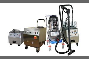 Profesionalni parni čistilci in oprema
