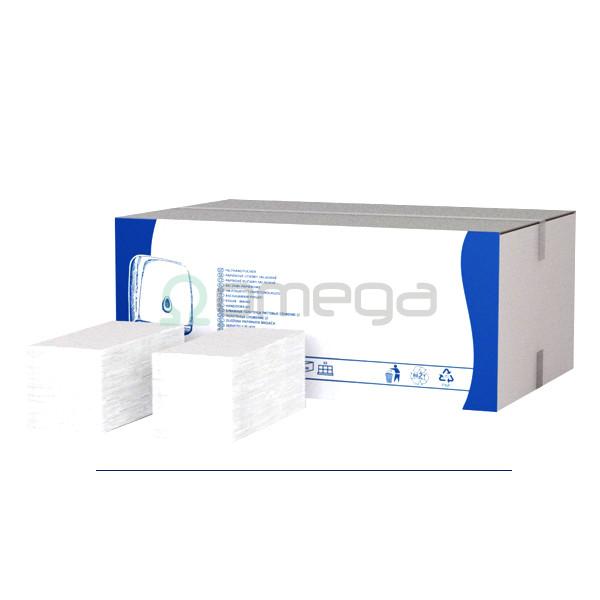 Brisače PRESTIGE čista celuloza 2-slojne zložene bele
