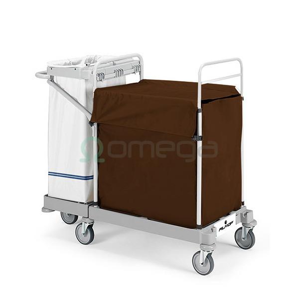 Hotelski voziček za umazano perilo Morgan Elegance Laundry 3140