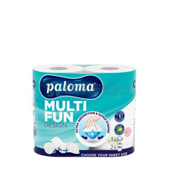 Kuhinjske brisače PALOMA MULTIFUN Design 2sl čista celuloza