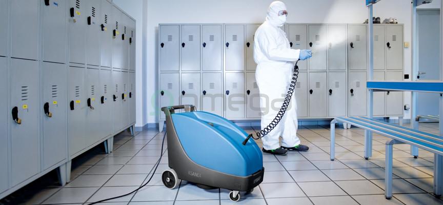 Stroj za dezinfekcijo FIMAP Ksanex_garderoba
