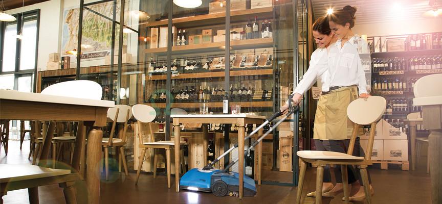 B Kombiniran čistilni stroj FIMAP Fimop _pod mizo