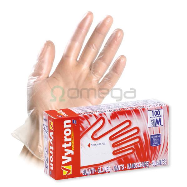 Rokavice vinilne Vytron za enkratno uporabo