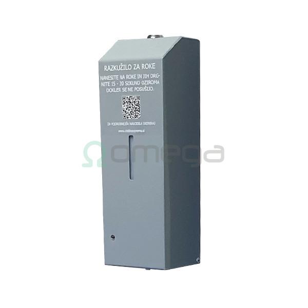 Dozirnik kovinski senzorski s kljucavnico OMEGA METAL SENSOR