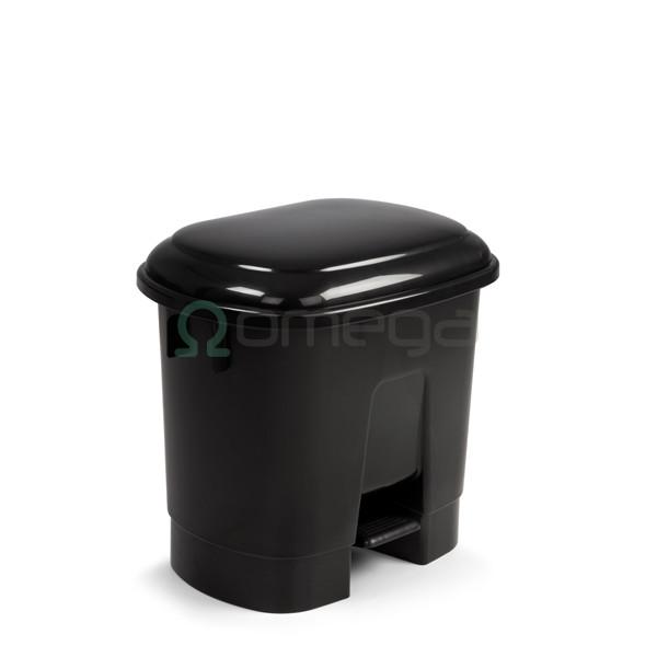 Koš za smeti FILMOP Sirius črn s pedalom 30l